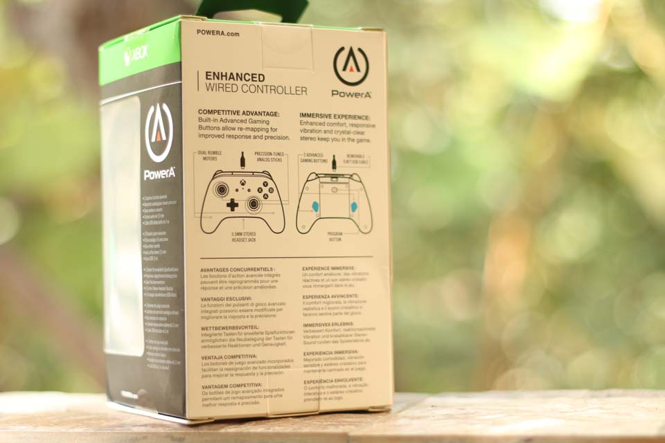 PowerA Enhanced Wired Controller For Xbox One Review - Tech