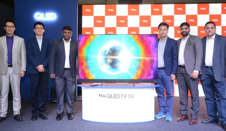 tcl techindian android tv ai tv 65x4