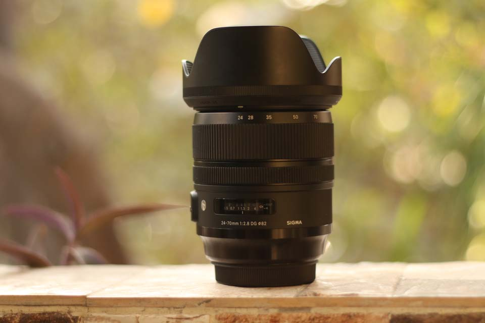 Sigma 24-70mm f2.8 DG OS HSM Art techindian