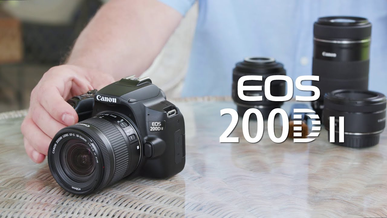Ahead of the holiday season, Canon launches EOS 200D II DSLR